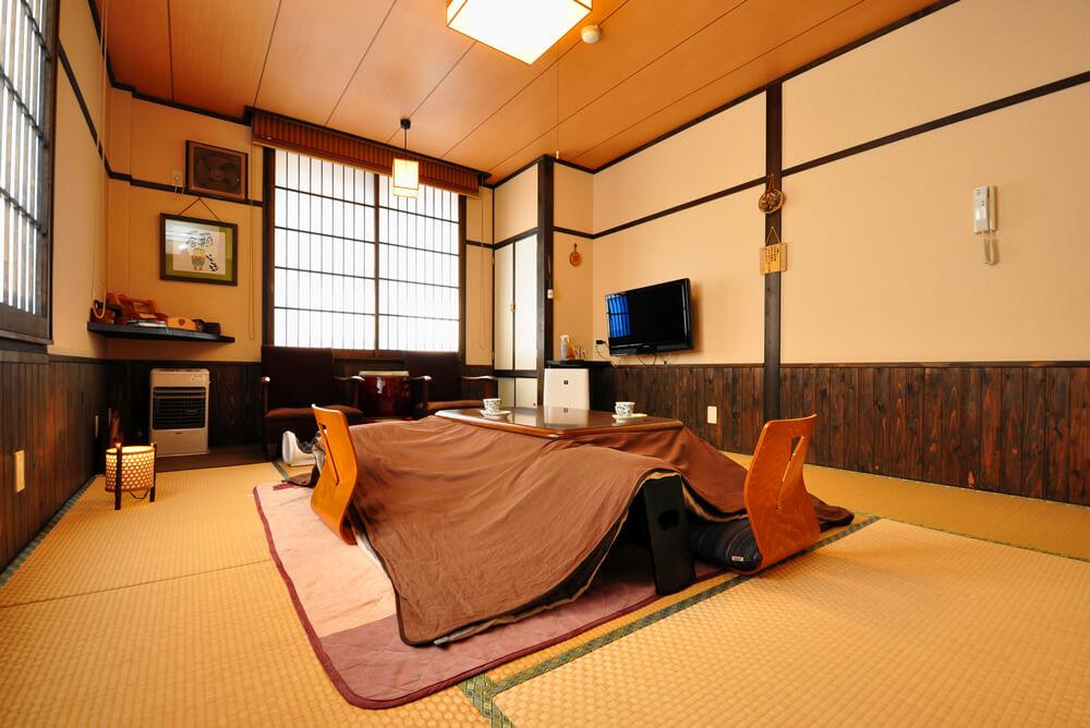 ほっと寛げる雰囲気の客室