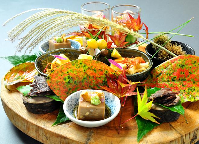 秋の味覚 お料理のご紹介