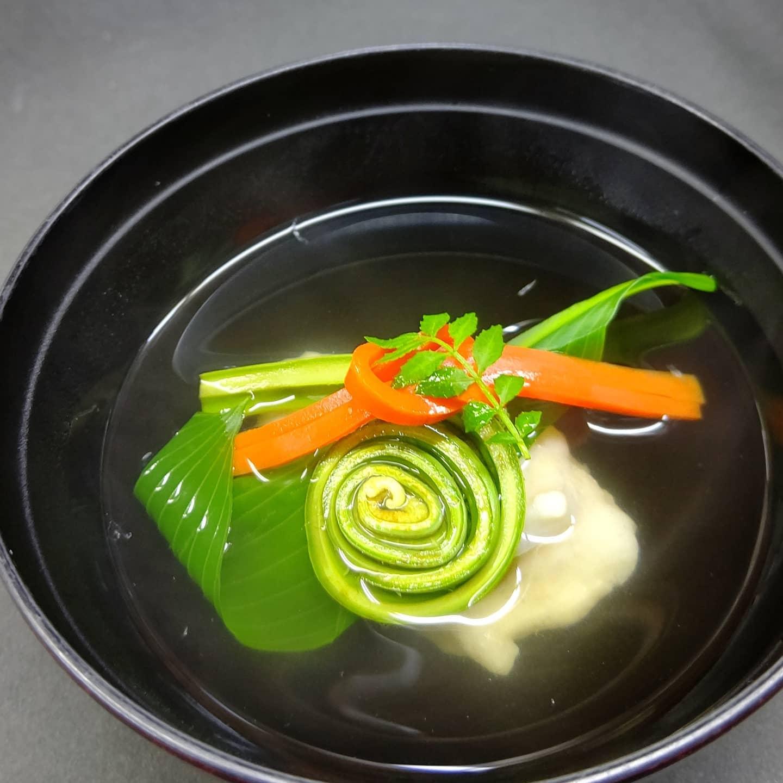 筍真丈の煮物椀